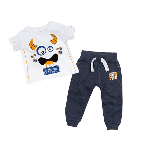 Lil' Monster Shirt & Jogger Set