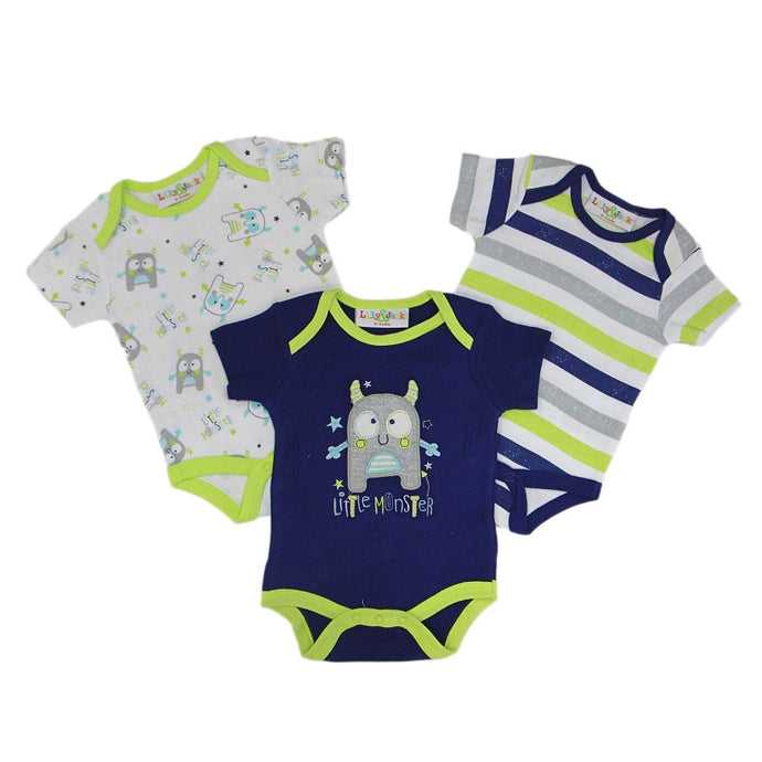 Little Monster 3 Pc. Onesie Set