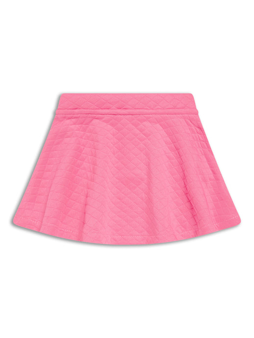 Pink Quilted Skirt