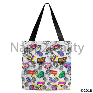 Genius Pop Art Tote Bags 13X13 Inch
