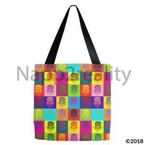 Genius Pop Culture Tote Bags 13X13 Inch