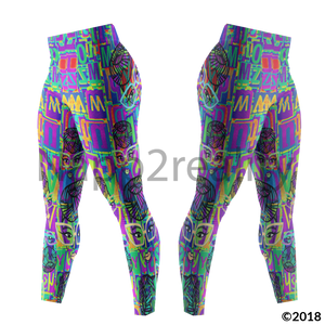 Genius Pop Artphabet Leggings