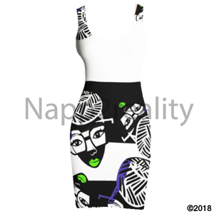 Genius Pop Blnw Tank Dress