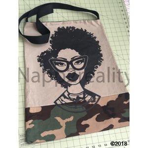 Fashion Fro Army Tote Bag Bags