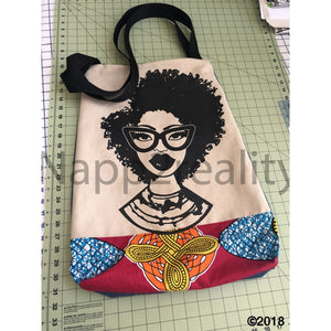 Fashion Fro Africa Print Tote Bag Bags