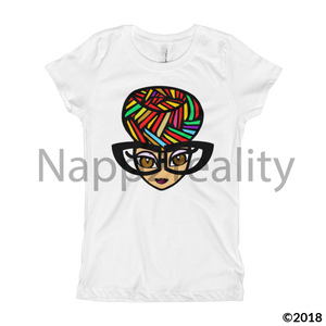 Genius Girls T-Shirt White / Xs