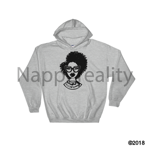 Fashion Fro Blnw Hooded Sweatshirt Sport Grey / S