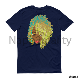 Genius Goldie Sista Loc Short-Sleeve T-Shirt Navy / S