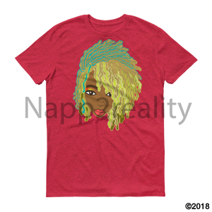 Genius Goldie Sista Loc Short-Sleeve T-Shirt Heather Red / S