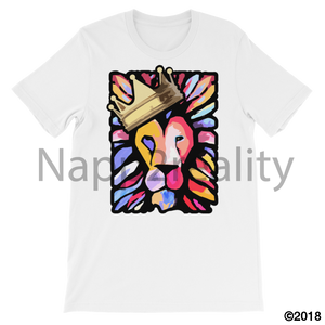 Lion Of Judah Mens T-Shirt White / S