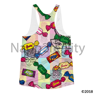Genius Pop Candy Slim Fit Tank Xs