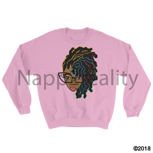 Loc Genius Sweatshirt Light Pink / S