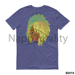 Genius Goldie Sista Loc Short-Sleeve T-Shirt Heather Blue / S