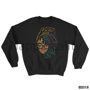 Loc Genius Sweatshirt Black / S