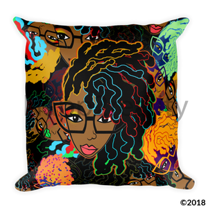 Loc Genius Coco Square Pillow