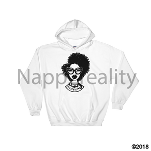 Fashion Fro Blnw Hooded Sweatshirt White / S