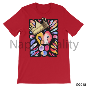 Lion Of Judah Mens T-Shirt Red / S
