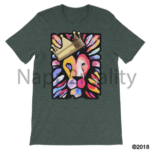 Lion Of Judah Mens T-Shirt Heather Forest / S