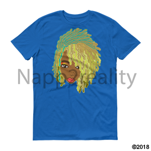 Genius Goldie Sista Loc Short-Sleeve T-Shirt Royal Blue / S