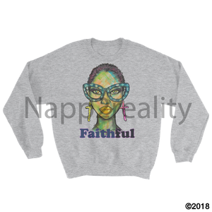 Faithful Sweatshirt Sport Grey / S