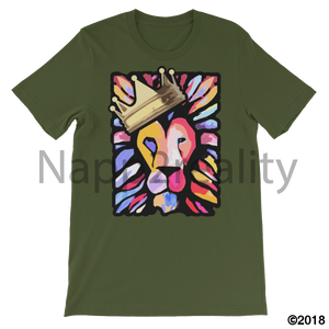 Lion Of Judah Mens T-Shirt Olive / S