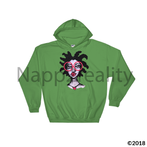 Loc Love Hooded Sweatshirt Irish Green / S