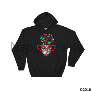 Genius Over The Rainbow Hooded Sweatshirt Black / S