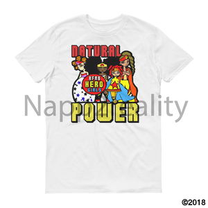 Natural Power Short Sleeve T-Shirt White / S