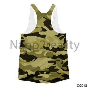 Fashion Fro Army Slim Fit Tank