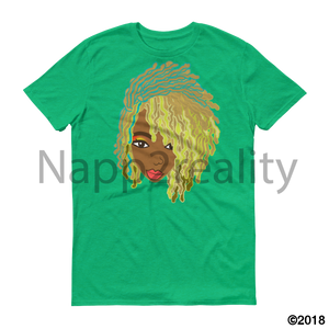 Genius Goldie Sista Loc Short-Sleeve T-Shirt Heather Green / S
