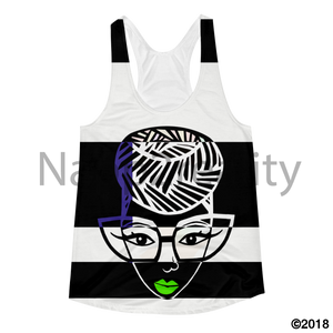 Genius Blnw Pop Art Slim Fit Tank Xs