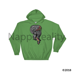 Candy Africa Hooded Sweatshirt Sport Grey / S