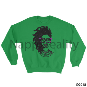 Fashion Locs Sweatshirt Irish Green / S