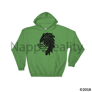 Loc Genius Blnw Hooded Sweatshirt Irish Green / S