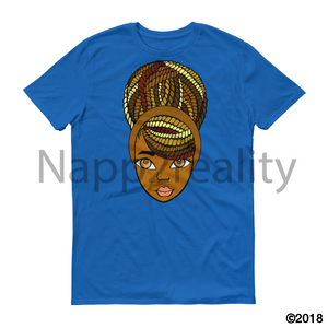 Coco Butter Twist Short-Sleeve T-Shirt Royal Blue / S
