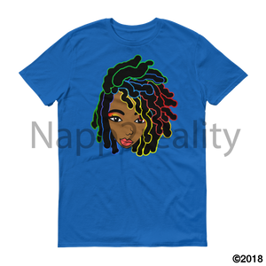 Loc Bob Genius Short-Sleeve T-Shirt Royal Blue / S