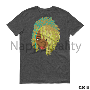 Genius Goldie Sista Loc Short-Sleeve T-Shirt Heather Dark Grey / S