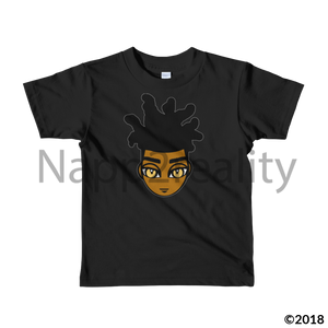 Loc Boy Short Sleeve Kids T-Shirt Black / 2Yrs