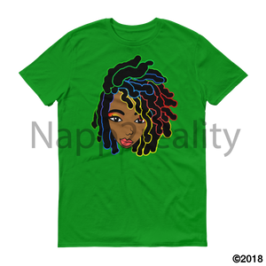 Loc Bob Genius Short-Sleeve T-Shirt Green Apple / S
