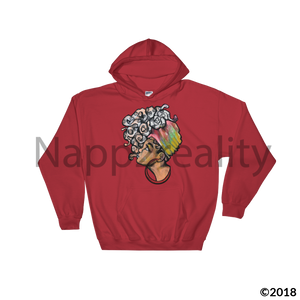 Lockadot Hooded Sweatshirt Red / S