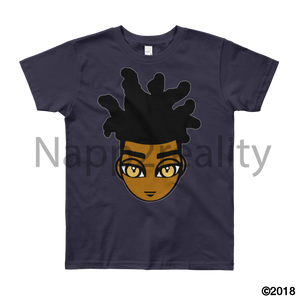 Loc Boy Youth Short Sleeve T-Shirt Navy / 8Yrs
