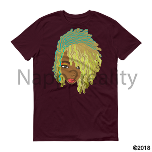 Genius Goldie Sista Loc Short-Sleeve T-Shirt Maroon / S