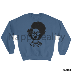 Fashion Fro Blnw Sweatshirt Indigo Blue / S