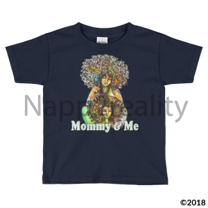 Mommy & Me Toddler Short Sleeve T-Shirt Black / 2T