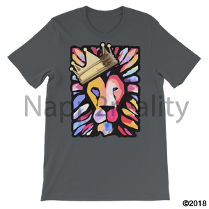 Lion Of Judah Mens T-Shirt Asphalt / S