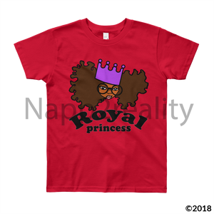 Royal Princess Youth Short Sleeve T-Shirt White / 8Yrs