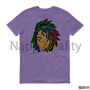 Loc Bob Genius Short-Sleeve T-Shirt Heather Purple / S