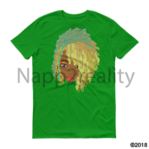 Genius Goldie Sista Loc Short-Sleeve T-Shirt Green Apple / S