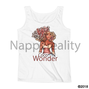 Coco Wonder Ladies Tank White / S
