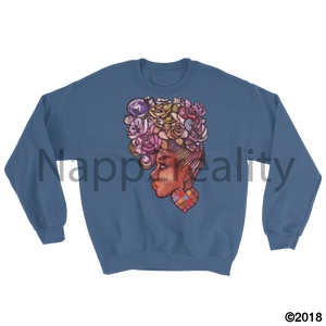 Heart Of Many Colors Msweatshirt Light Pink / S